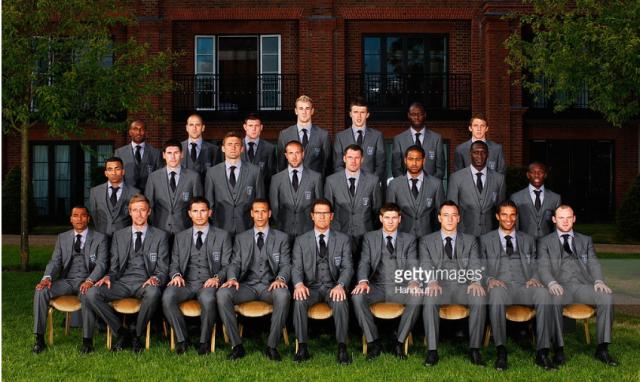 england 2010 squad