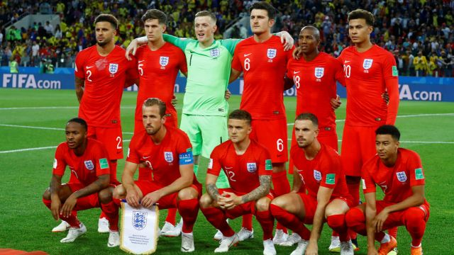 6cecb2264 World Cup 2018  England Team  63% White and No Muslims