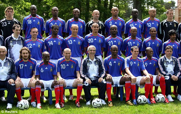 france 2006 world cup squad