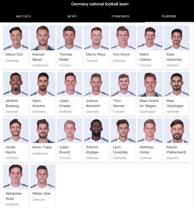 germany national football team full 23 2018 google