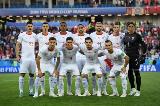 World Cup 2018  Switzerland Team  70% White but Only 44% White ... 032fe4256