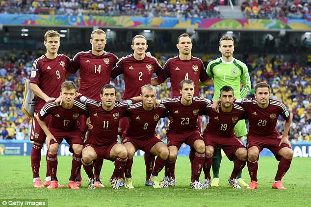 russia 2014 world cup starting eleven
