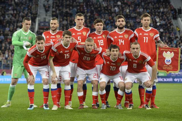 russia national team december 2017