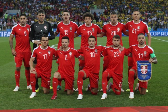 Serbia s FIFA World Ranking in 2018  34th 027aabcbe