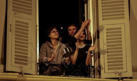 Corona Clapping - Nice France