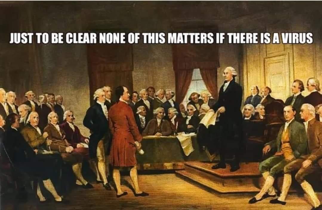 Founding Fathers on Coronavirus