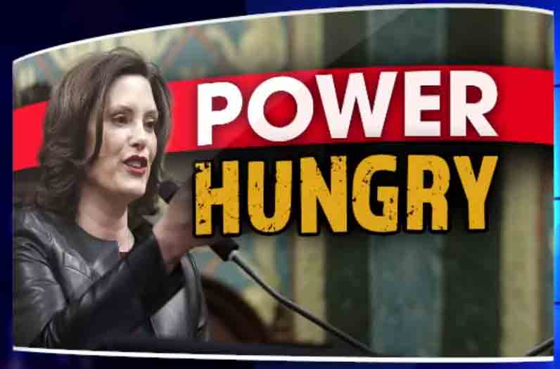 Gretchen Whitmer - Power Hungry1